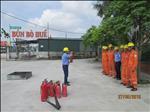 Điện lực TP Hải Dương: Diễn tập phương án phòng cháy, chữa cháy năm 2016