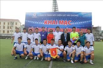 Giải bóng đá CNVC - LĐ năm 2018