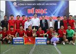 Bế mạc giải bóng đá CBVC-LĐ Công ty Điện lực Hải Dương
