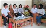Công đoàn Điện lực Hải Dương tặng quà gia đình người bị tai nạn lao động