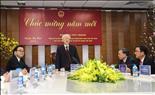 Tổng Bí thư, Chủ tịch nước Nguyễn Phú Trọng thăm và chúc Tết Tập đoàn Điện lực Việt Nam
